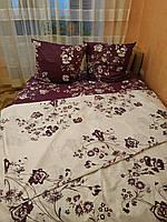Комплект постельного белья с цветочным принтом