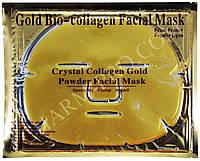 Очищающая коллагеновая маска для лица с биозолотом и ромашкой Gold Collagen Crystal Facial Mask (Золото)
