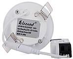 Светодиодный круглый врезной светильник Lezard 442RRP-03 3W 4200K, фото 3