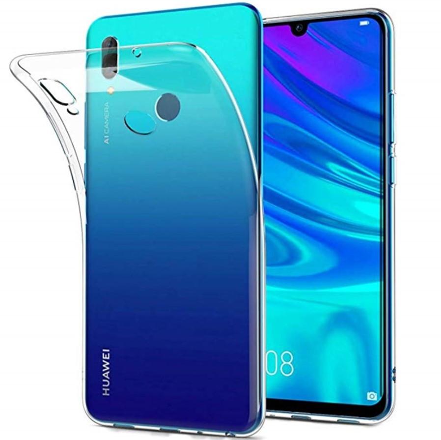 Прозорий силіконовий чохол для Huawei Honor 10 Lite