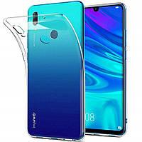 Прозрачный силиконовый чехол для Huawei Honor 10 Lite