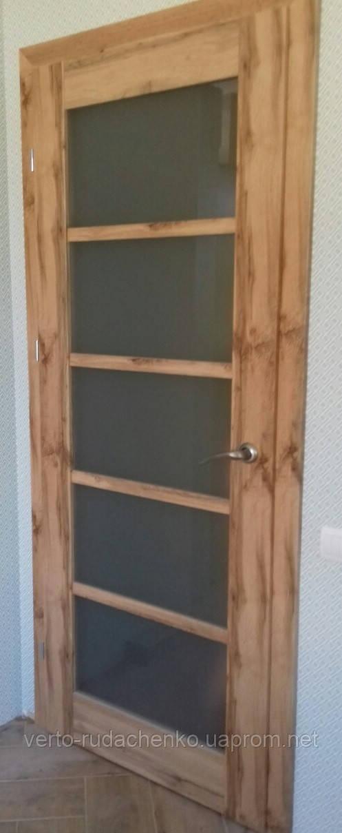 Двери EcoDoors Bergamo 6 цвет: дуб ирландский