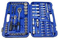 Набор инструментов 85 предметов, 1/4-1/2 дюйма, 6 граней, 5-32 мм, King Roy 085MDA