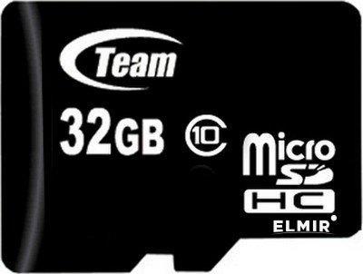 Team micro SDHC Class 10 4GB с адаптером (TUSDH4GCL1003)