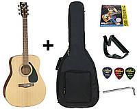 Гитара акустическая полноразмерная (4/4) Yamaha F310 (чехол, каподастр, медиатор, струна, ключ)
