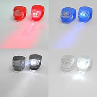 Комплект мини мигалок 2 LEDs Light set, белый / желтый / красный / черный / синий / зеленый / фиолетовый (STR)