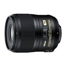 Об'єктив Nikon AF-S 60mm f/2.8 G ED Micro Гарантія від виробника ( на складі )