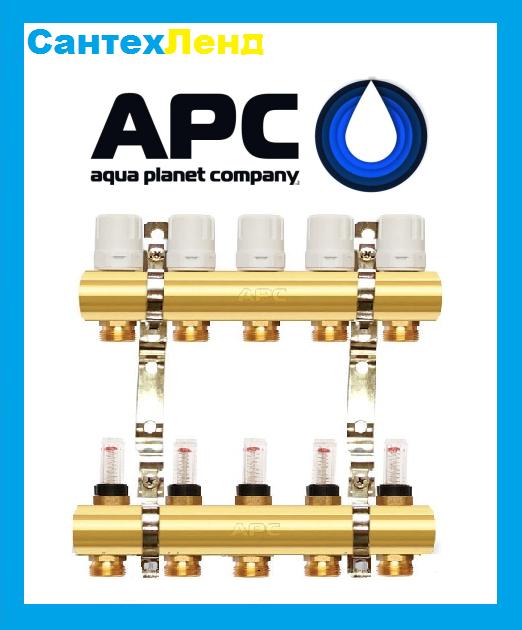 Коллектор для теплого пола и отопления APC 2 контура