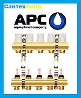 Коллектор для теплого пола и отопления APC 2 контура, фото 1