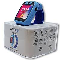 Детские Gps часы Myox МХ-01B синие с камерой и фонариком - 141026