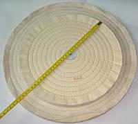 Диск полировальный 300мм белый муслиновый