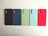 Original Silicone Case для Huawei P20. Силиконовый чехол с микрофиброй для хуавей П 20