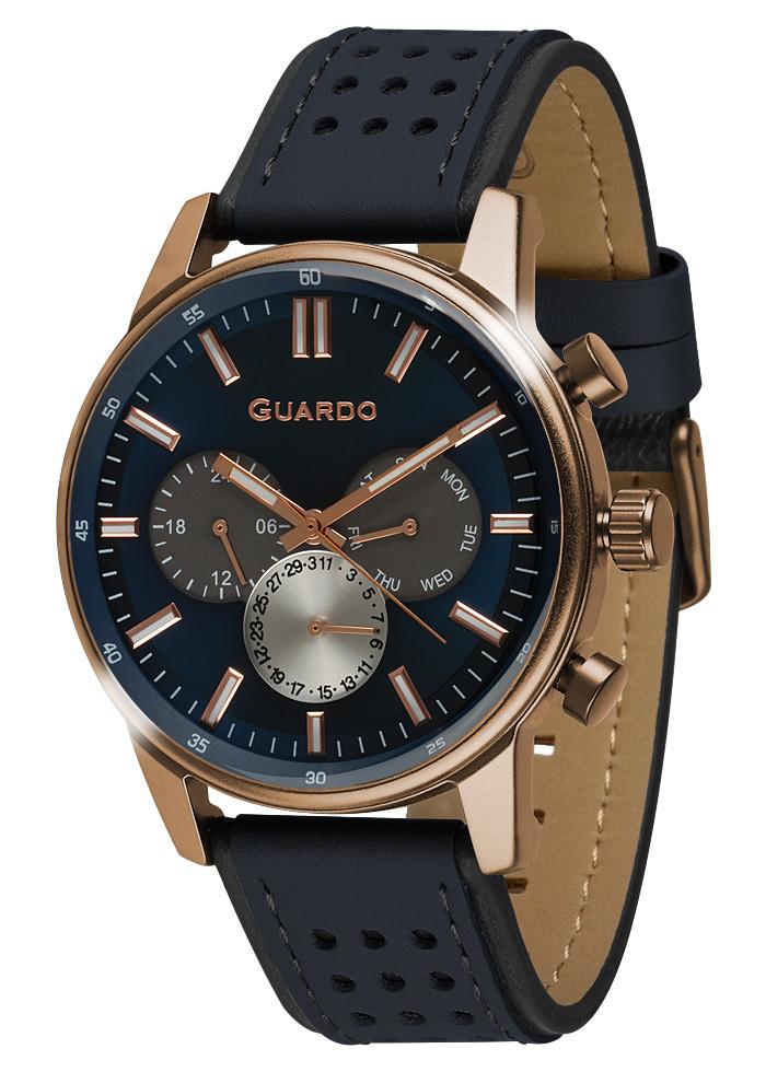 Часы мужские Guardo 007576-2 бронзовые