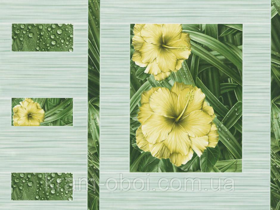 Шпалери КФТБ прості паперові миються 10 м*0,53 9В56 Петунія 6556-04