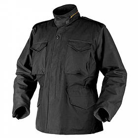 Куртка M65 Helikon-Tex - NyCo Sateen - чёрная [Propper]