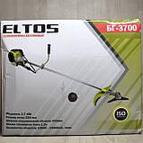 Бензокоса Eltos БГ-3700 мотокоса, фото 2