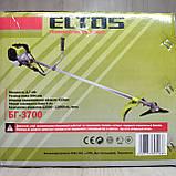 Бензокоса Eltos БГ-3700 мотокоса, фото 3