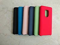 Original Silicone Case для Huawei Mate 20. Силиконовый чехол с микрофиброй для хуавэй мэйт 20
