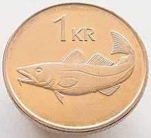 Исландия 1 крона 2006