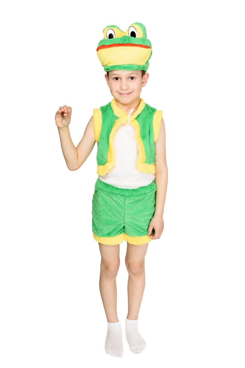 """Детский карнавальный костюм """"Лягушка"""" для мальчика"""