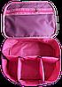 Вместительная дорожная косметичка со съемными перегородками ORGANIZE (розовый), фото 3