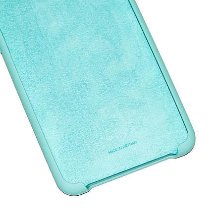 Силиконовый чехол на Samsung A50 (A505) Soft-touch Mint, фото 2