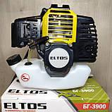 Мотокоса Eltos БГ-3900 бензокоса, фото 2