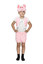 """Детский карнавальный меховой костюм """"Поросёнок"""" унисекс, фото 2"""