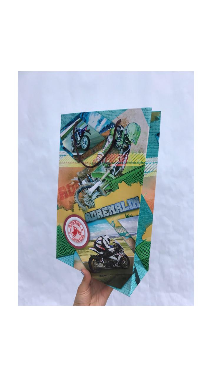 Пакет подарочный #5(23*37*10)