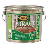 Масло для террас Aura Terrace (серый цвет)