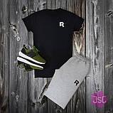 Мужской летний костюм Adidas (Адидас) 100% качества, фото 3