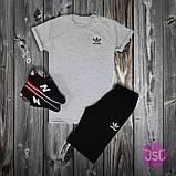 Мужской летний костюм Adidas (Адидас) 100% качества, фото 4