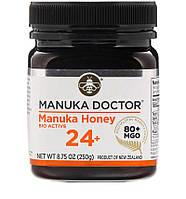 24+ биологически активный мед Манука, 250 г, Manuka Doctor