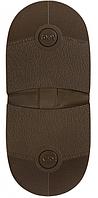 Набойка Темпо р. средний цвет коричневый