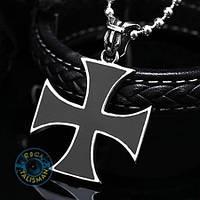 Кулон AST11 Крест мальтийский-1