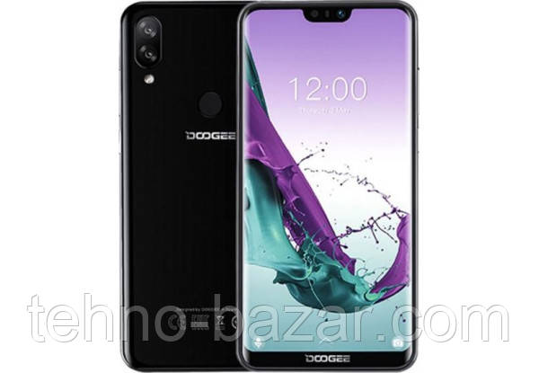 Смартфон Doogee N10 3/32gb Black Spreadtrum SC9863A 3360 мАч