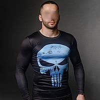 Мужская кмпрессионная футболка КАРАТЕЛЬ. Рашгард