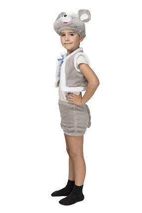 """Детский карнавальный меховой костюм """"Мышонок"""" для мальчика, фото 2"""
