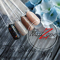 Финишное покрытие для гель лака и геля  с микроблеском Sweet Nails №1 15мл без липкого слоя