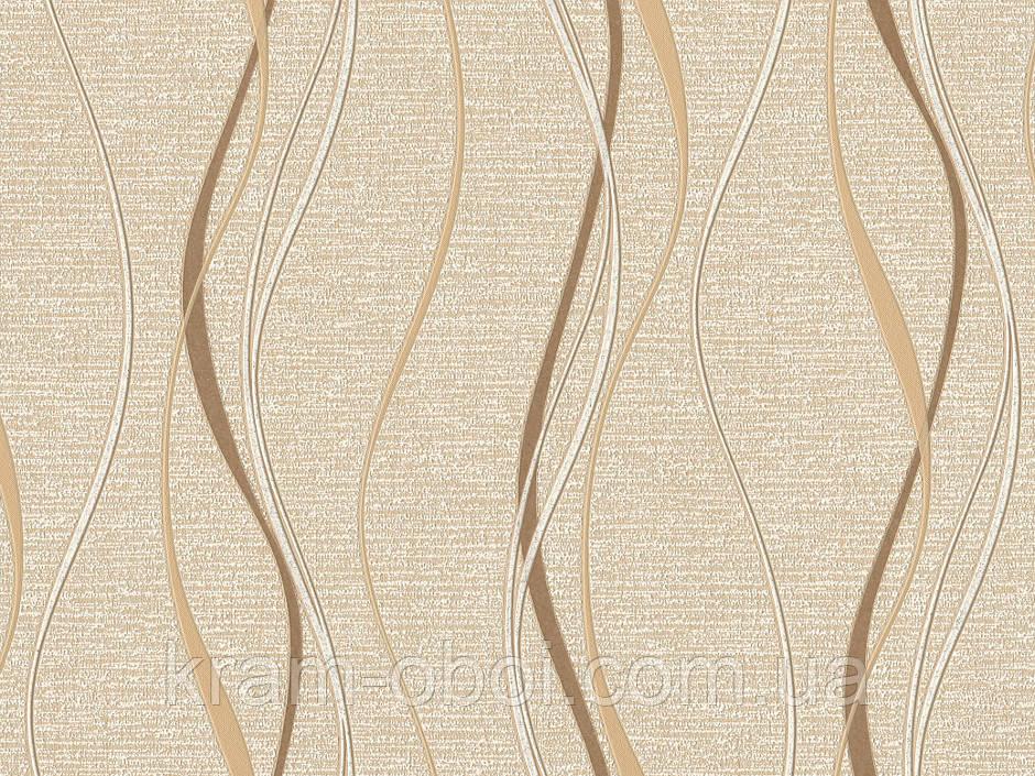 Шпалери Слов'янські Шпалери КФТБ вінілові на флізеліновій основі 10м*1,06 9В109 Рапсодія 2 3636-02