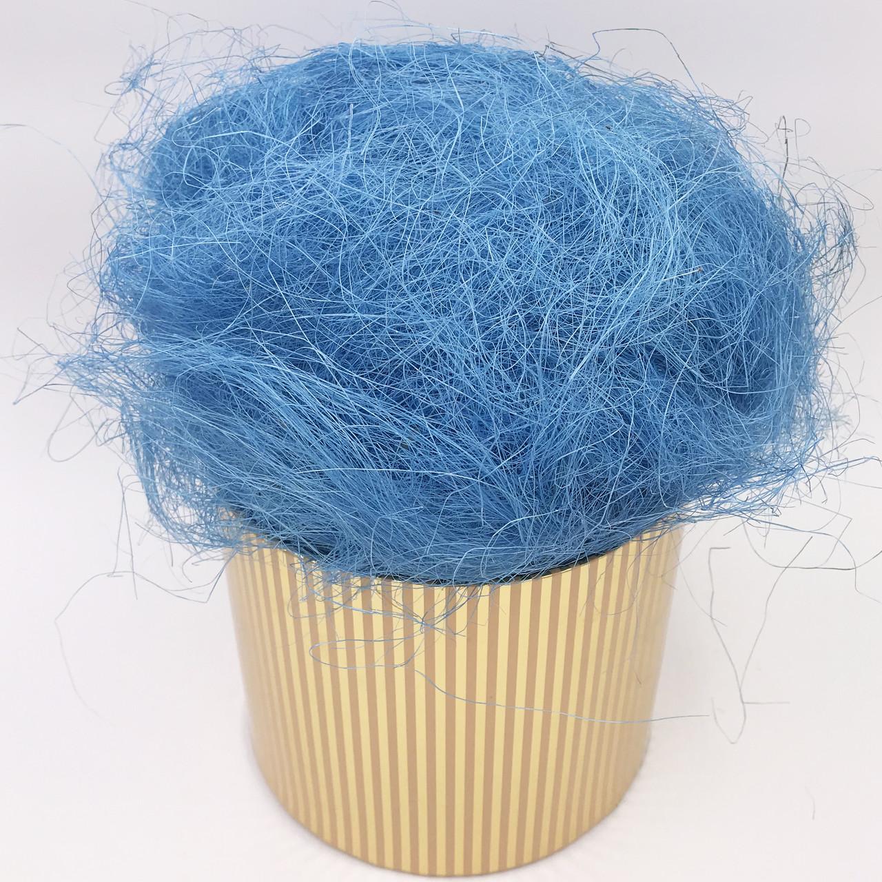 Сизаль 80 г синій