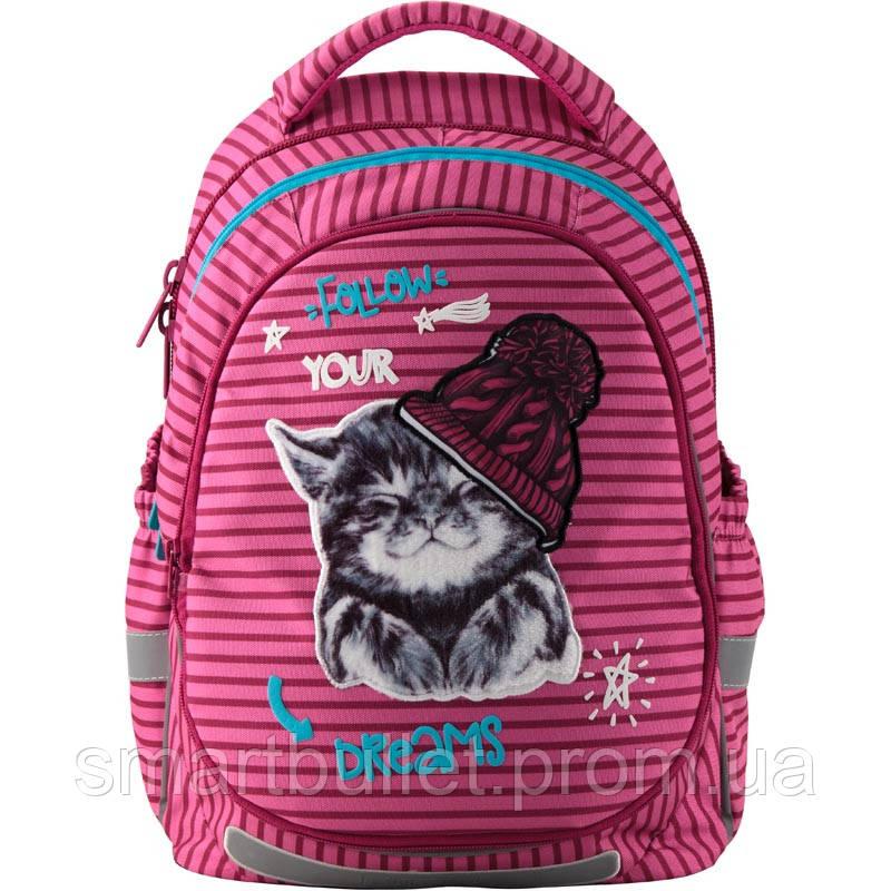 Рюкзак школьный ортопедический KITE Education K19-723M-1 Fluffy animals