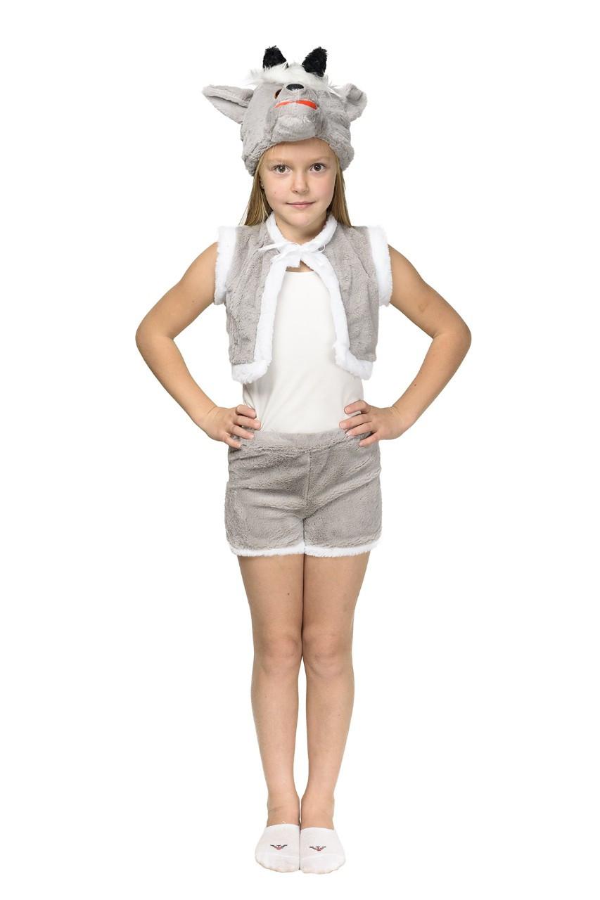"""Детский карнавальный меховой костюм """"Козлик"""" унисекс"""