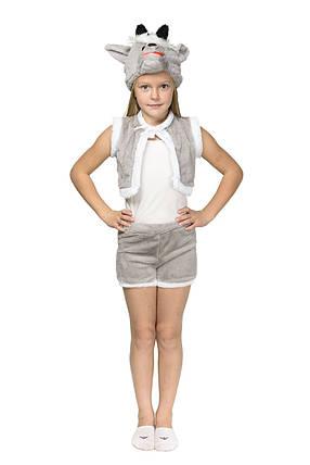 """Детский карнавальный меховой костюм """"Козлик"""" унисекс , фото 2"""
