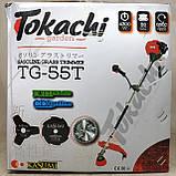 Бензокоса Tokachi TG-55 мотокоса, фото 4