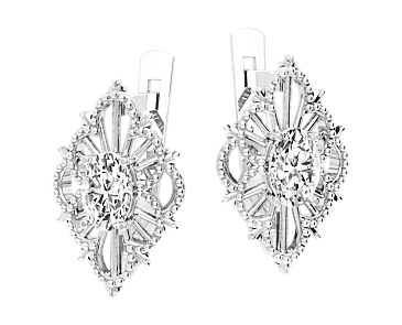 Серьги серебряные Irina 41322