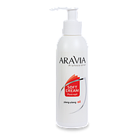 "Сливки ""aravia professional"" с маслом иланг-иланг для восстановления рн кожи 150 мл."