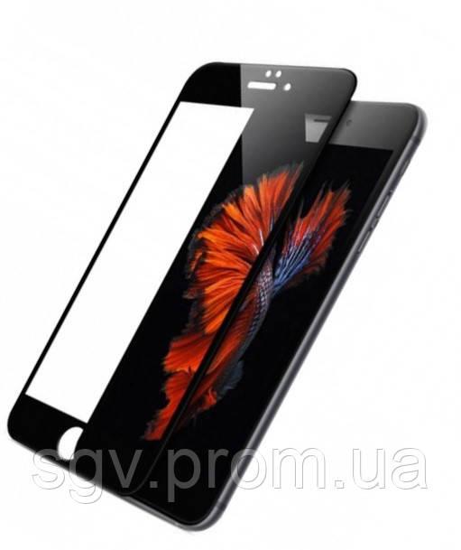 Защитное стекло на iPhone 6S 6S+, 7/ 8,7/8+ Black 10D