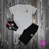 Мужской летний костюм Adidas (Адидас) 100% качества