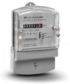 Электросчетчик NIK 2102-02 М2В однофазный не тарифный